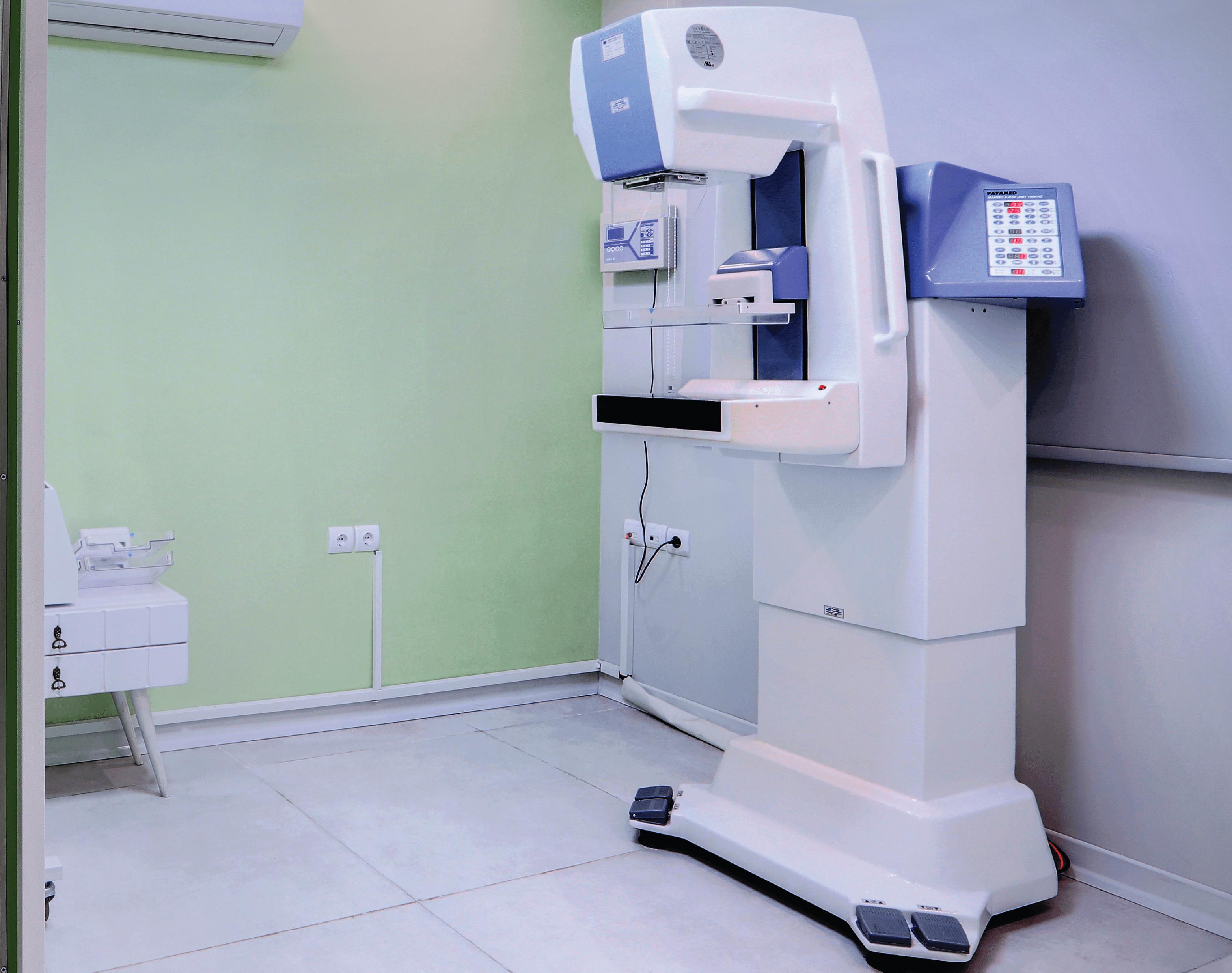 ماموگرافی کیان سلامت